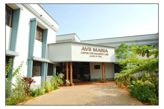 Entrance to Ave Maria Palliative Care